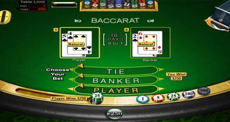 Kartu Baccarat Online